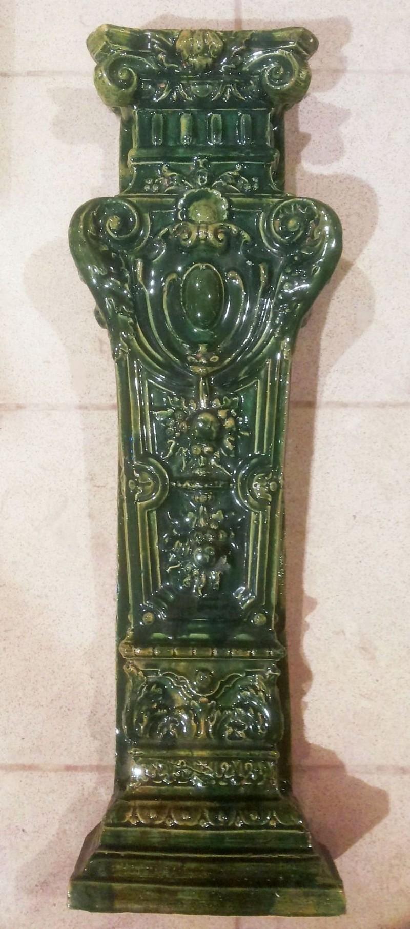 Барокальная колонна для камина или печи