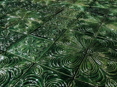 Облицовочные плитки ручной работы Романский орнамент
