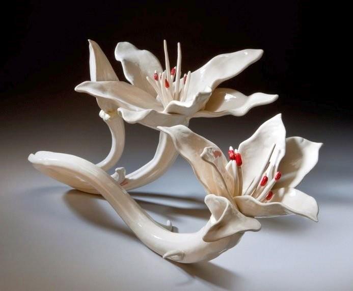 Керамические лилии Линды Лайтон