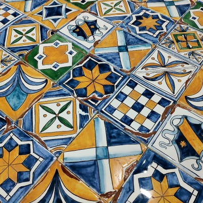 Пиренейские изразцы, облицовочная плитка
