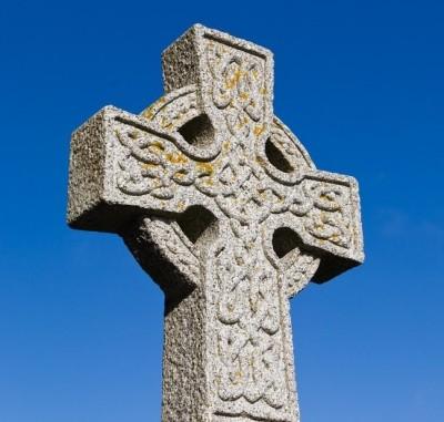 Кельтский крест на севере Шотландии. IV-III век до. н.э.
