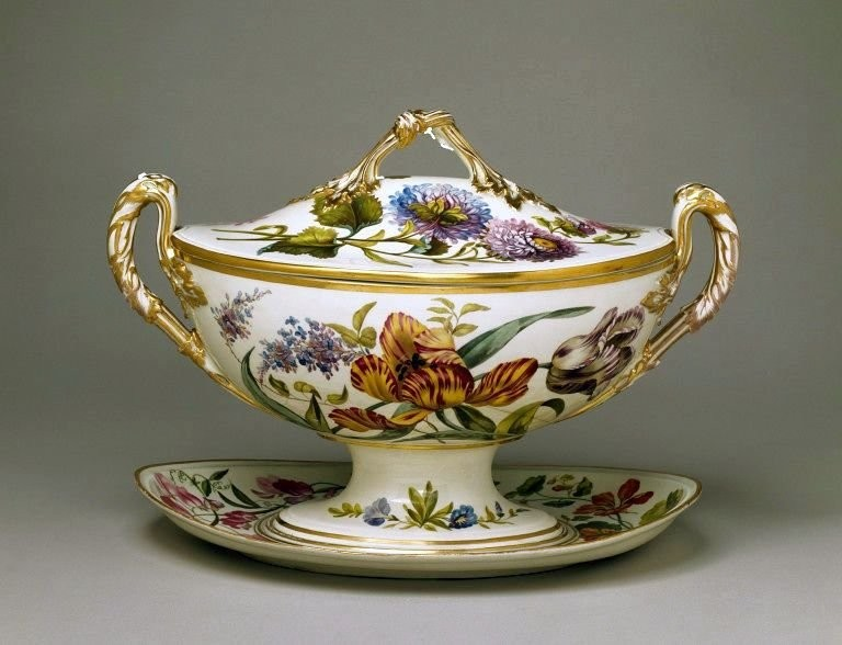 Супница, Royal Crown Derby, 1796-1801 годы