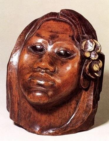 Техура, таитянская жена Гогена