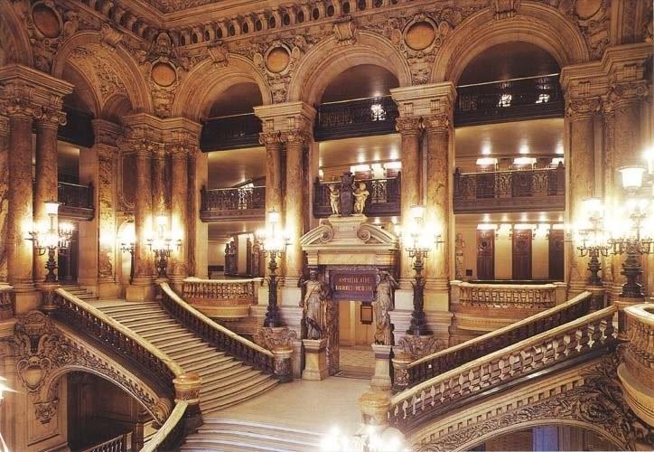 Фойе Град Опера в Париже