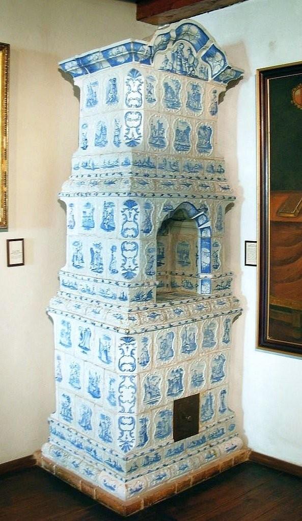 Печь в доме Яна Длугоша