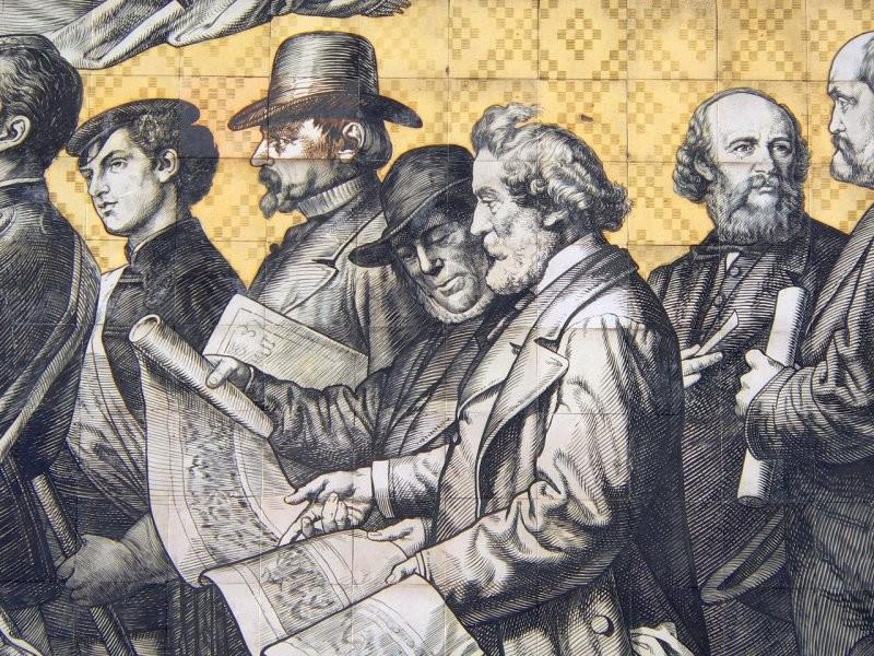 Шествие князей,1907 год, Дрезден