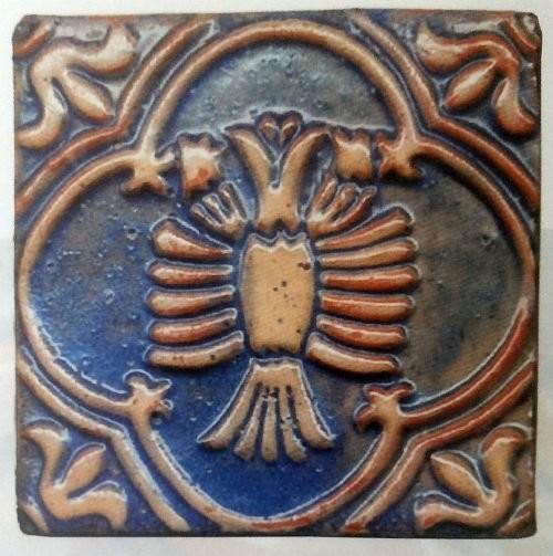 Изразцы с зодиакальной символикой. США. 1898 год