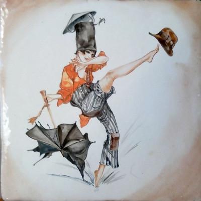 Купить изразцы, Парижские миниатюры La Vie Parisienne, Авторская керамика ручной работы