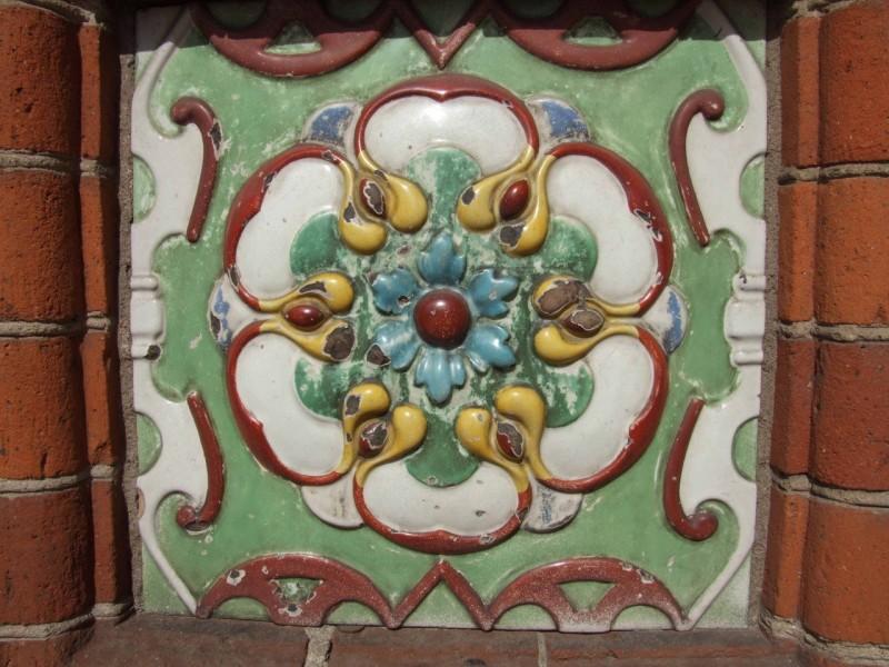 Типичная ярославская цветочная розетка