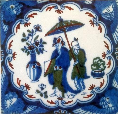 Английский Делфт периода «чайна-мании»