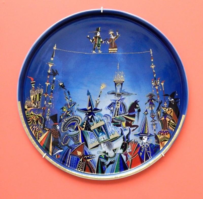 Блюдо Балаганчик, 2000 год, Ларионов А.В.