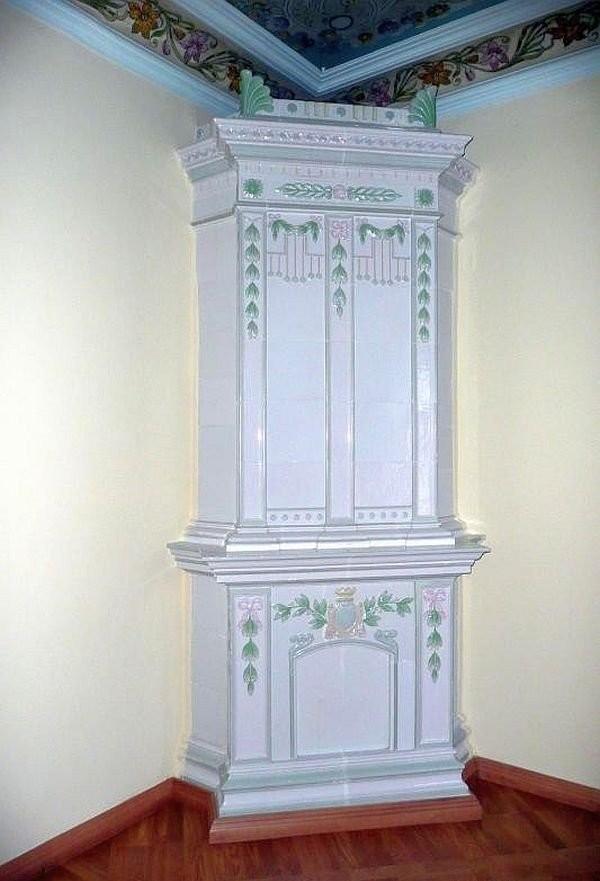 Печь завода Або в доме Плотниковой в Архангельске