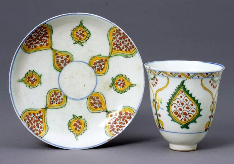 Кофейная пара. Кютахья. 1780 год