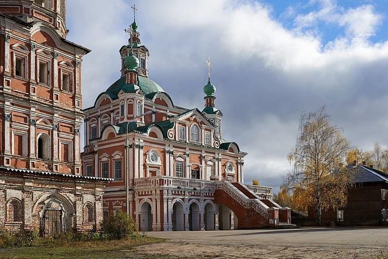 Храм Симеона Столпника. Великий Устюг. 1725 год