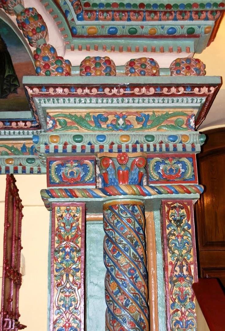 Декор храма Григория Неокесарийского, XVII в., Москва