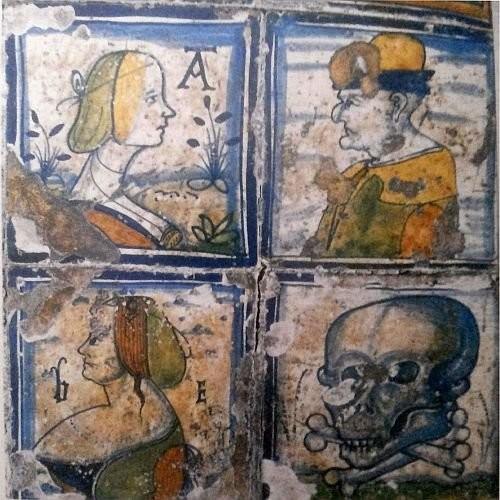 Изразцы Гвидо Андреаса в итальянском стиле. Антверпен, 1532 год