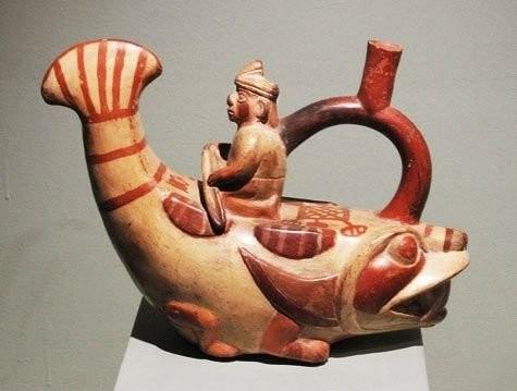 Скульптурная керамика Моче