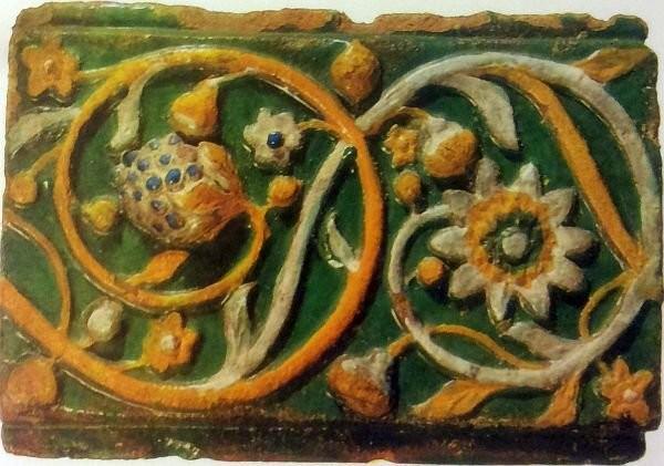 Ярославская розетка. Вторая половина XVII века