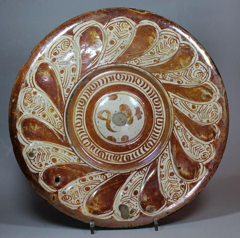 Андалусская тарелка, 16 век