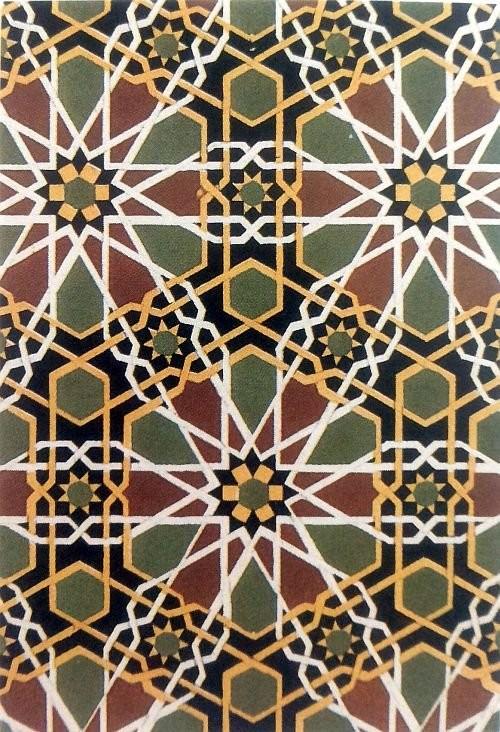 Персидская мозаика периода Тимуридов