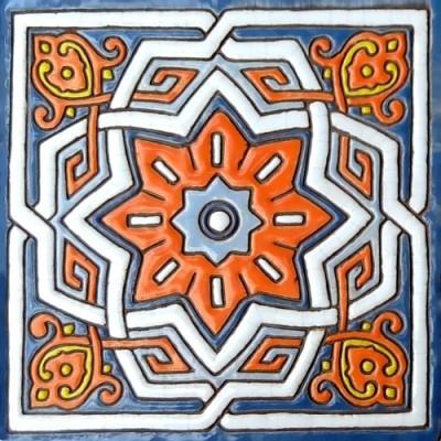 Купить изразцыв Москве, Керамика ручной работы