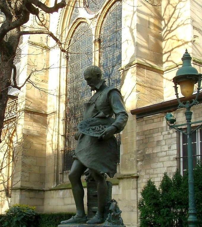 Памятник Бернару Палисси в Париже