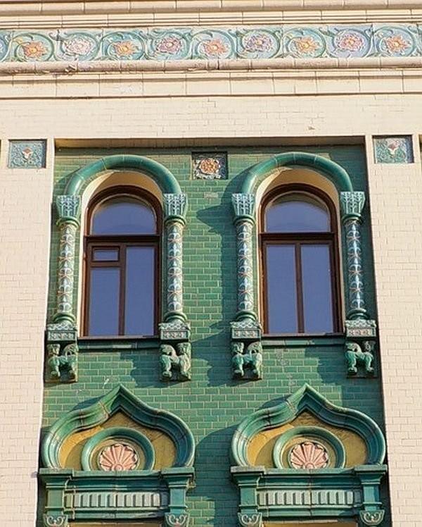 Дом М. Н. Миансаровой на Большой Сухаревской