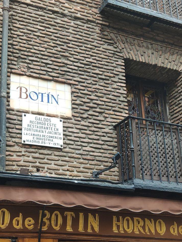 Ресторан Собрино-де-Ботин
