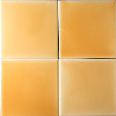 Желтая фасадная майолика