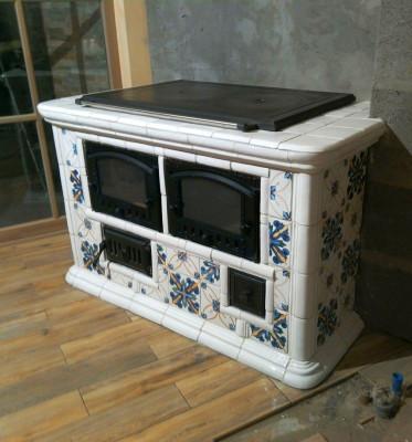 Варочная изразцовая печь Итальянка