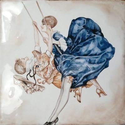 Купить изразцы для облицовки серии Парижские миниатюры La Vie Parisienne