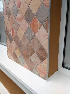 Заказать облицовку фасада, фасадная керамика
