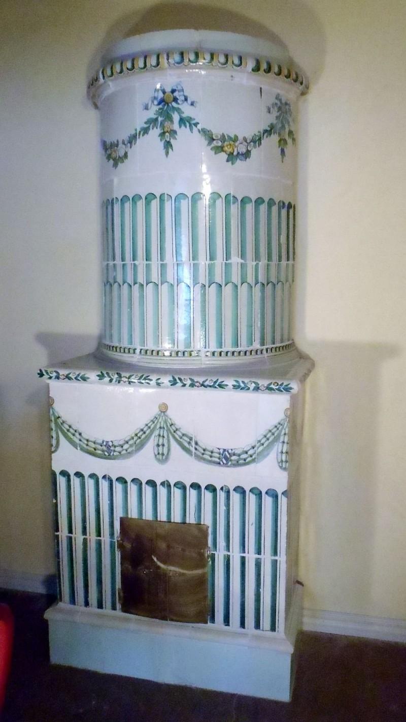 Круглая печь в Густавианском стиле 1815 год