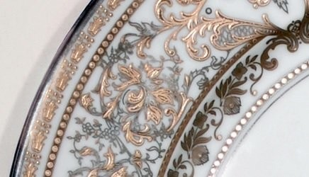 Matignon White and Gold, Haviland