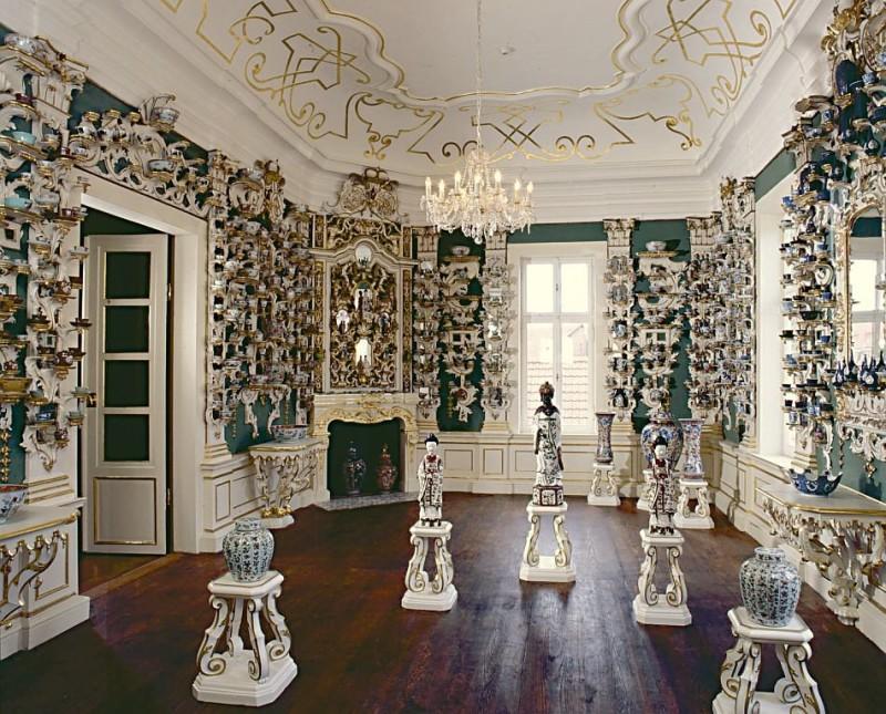 Фарфоровая комната во дворце Шёнбрунн