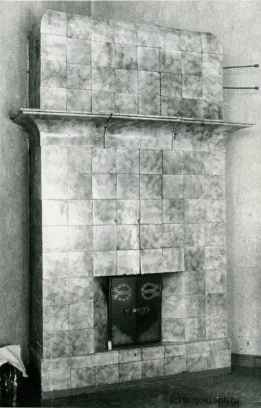 Печь дома Говинга в Выборге