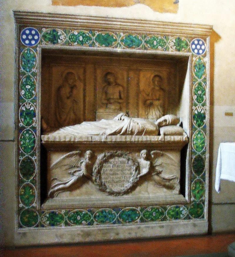 Склеп Беноццо Федеричи (1454-1457), мастерская Делла Робио