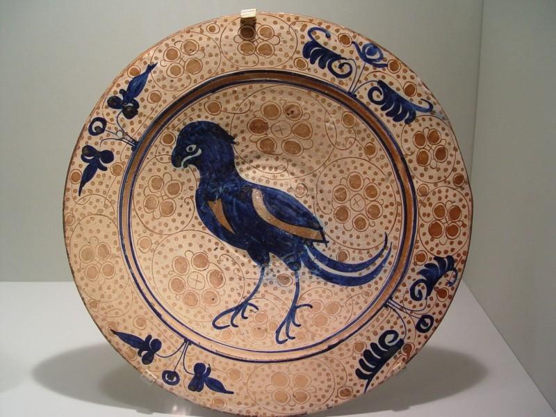 Блюдо с птицей, 1430-1450 гг, Манисес