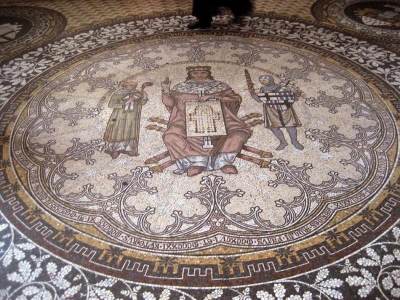 Мозаичные полы Кельнского собора