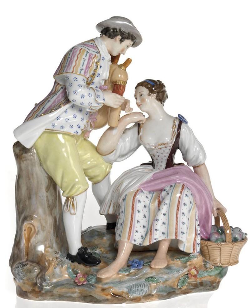 Галантная пара. Попов. Первая половина XIX века