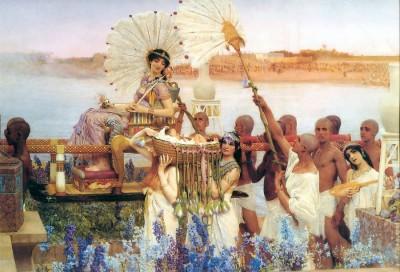 полотно «Обретение Моисея», написанное художником в 1904 году