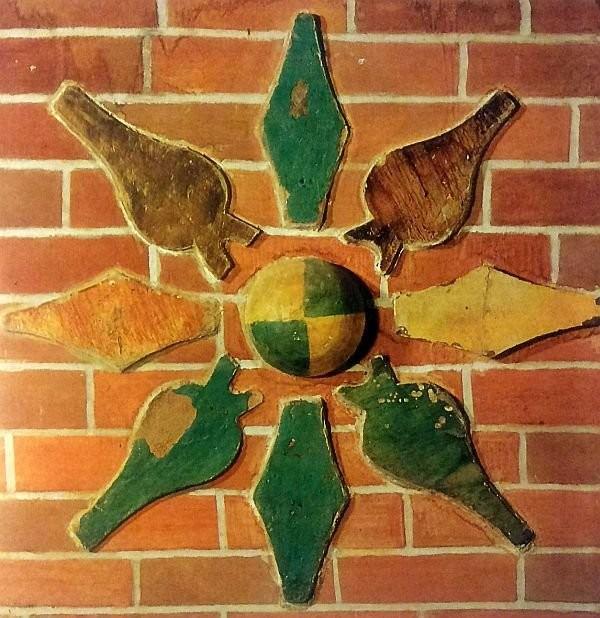 Декоративная розетка. Покровский собор. Москва. 1567 год