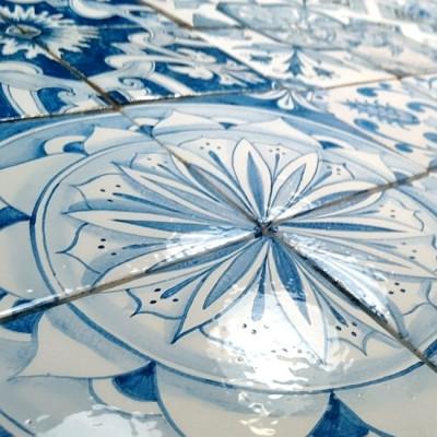Изразцы ручной работы Азулежу, изразцовая плитка для облицовки