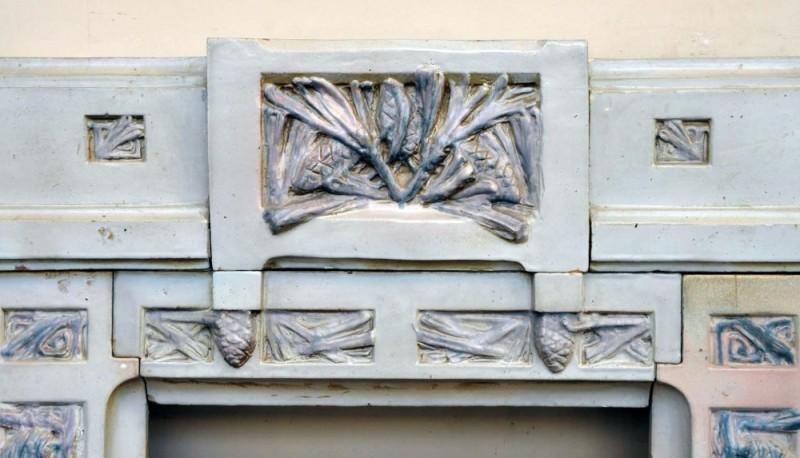 Арт-Деко. Камин с шишками. Шарль Гребер.