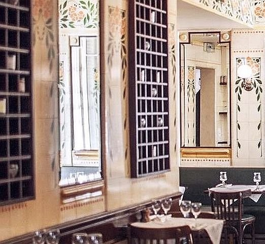 Керамические панно в кафе Пти-Ретро (Petit Retro)