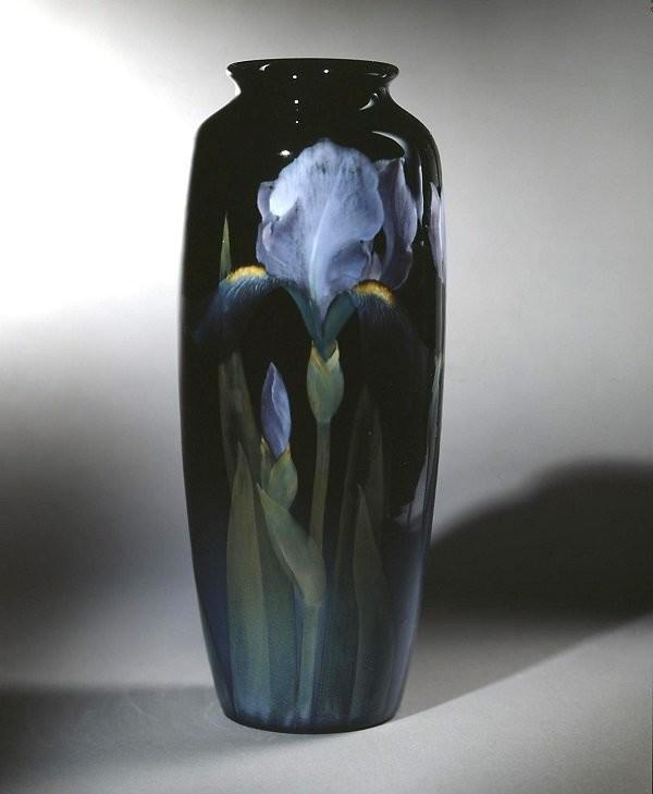 Ваза производства Rookwood Pottery. Художник Карл Шмидт, 1903 год