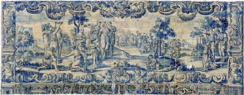 Азулежу, XVIII век, Португалия
