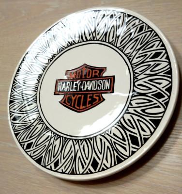 Кельтская тарелка с ручной росписью