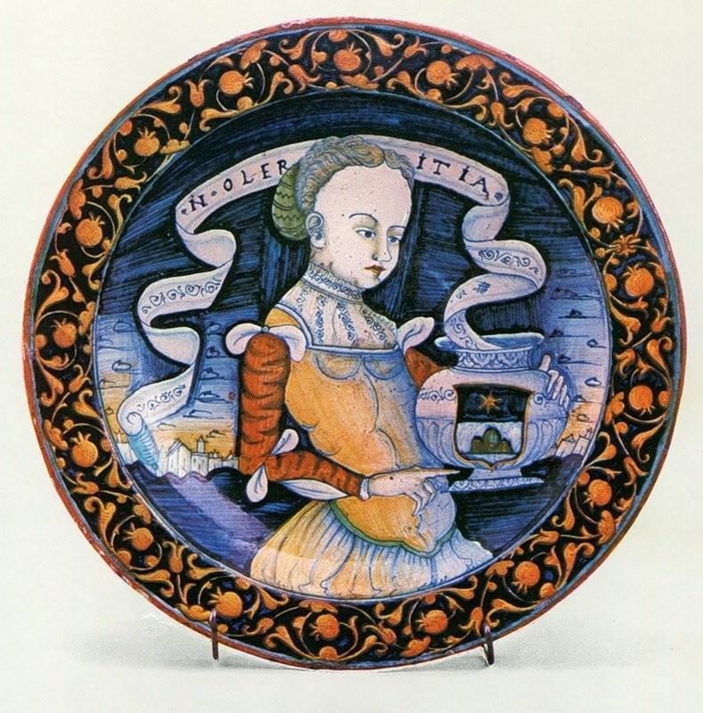 Изображение женщины из Фаэнцы. 1520-1540 год