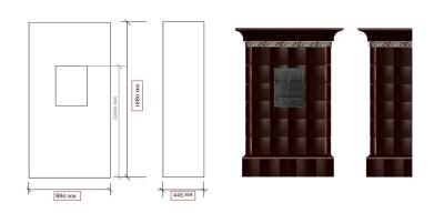Проект винтажной печи